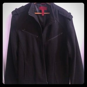 Other - Men's wool jacket. Very nice. Size large. Black